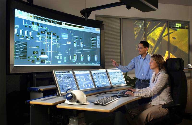 اتاق کنترل سیستم اسکادا