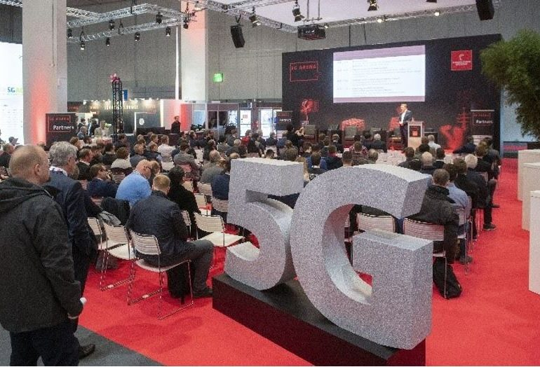 5G industrial automation network