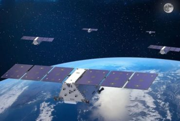 A depiction of Lockheed Martin's satellite constellation. Image used courtesy of Omnispace
