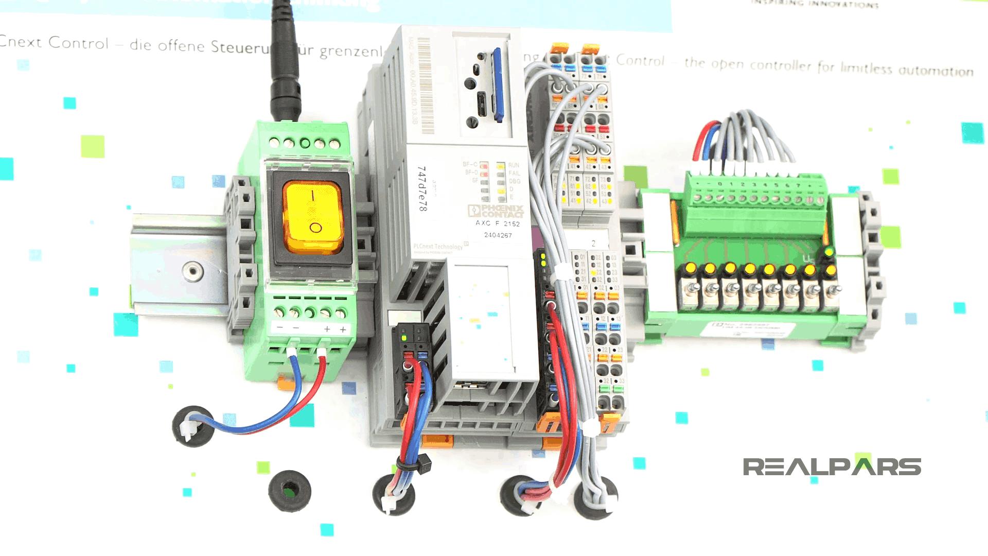 کنترل کننده PLCnext