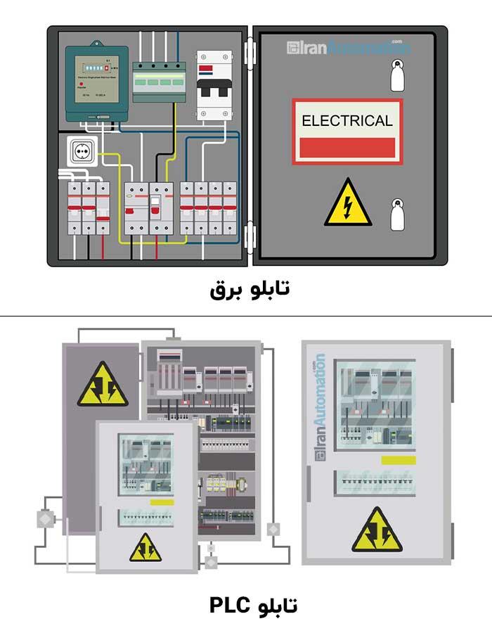 تابلو برق و تابلو plc