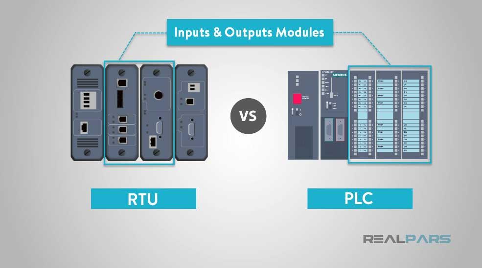 RTU در مقابل PLC